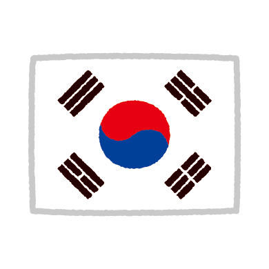 illustkun-01081-korea-flag