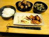 2008年10月夕食1