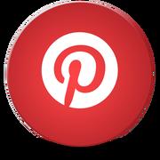 Social Media Icons Circle Pinterest v3