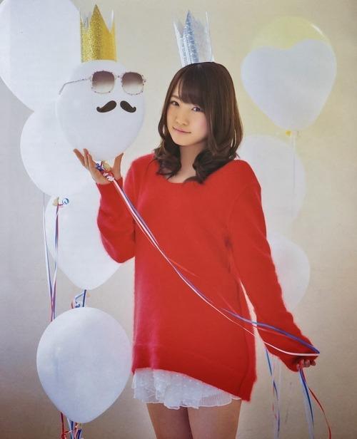 AKB48 Rina Kawaei Self Recommendation on Bomb Magazine 003