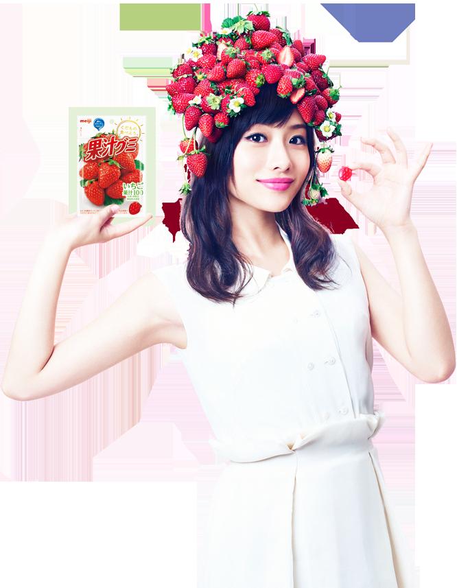 石原さとみ Ishihara Satomi meiji 果汁グミ Kajuu Gummy Images 3