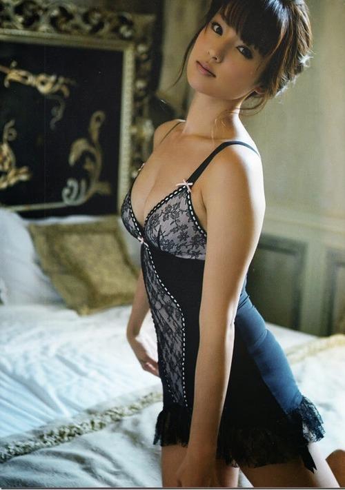 深田恭子 Kyoko Fukada (un)touch Sexy Lingerie ランジェリー 08