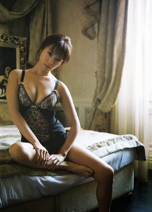 深田恭子 Kyoko Fukada (un)touch Sexy Lingerie ランジェリー 09