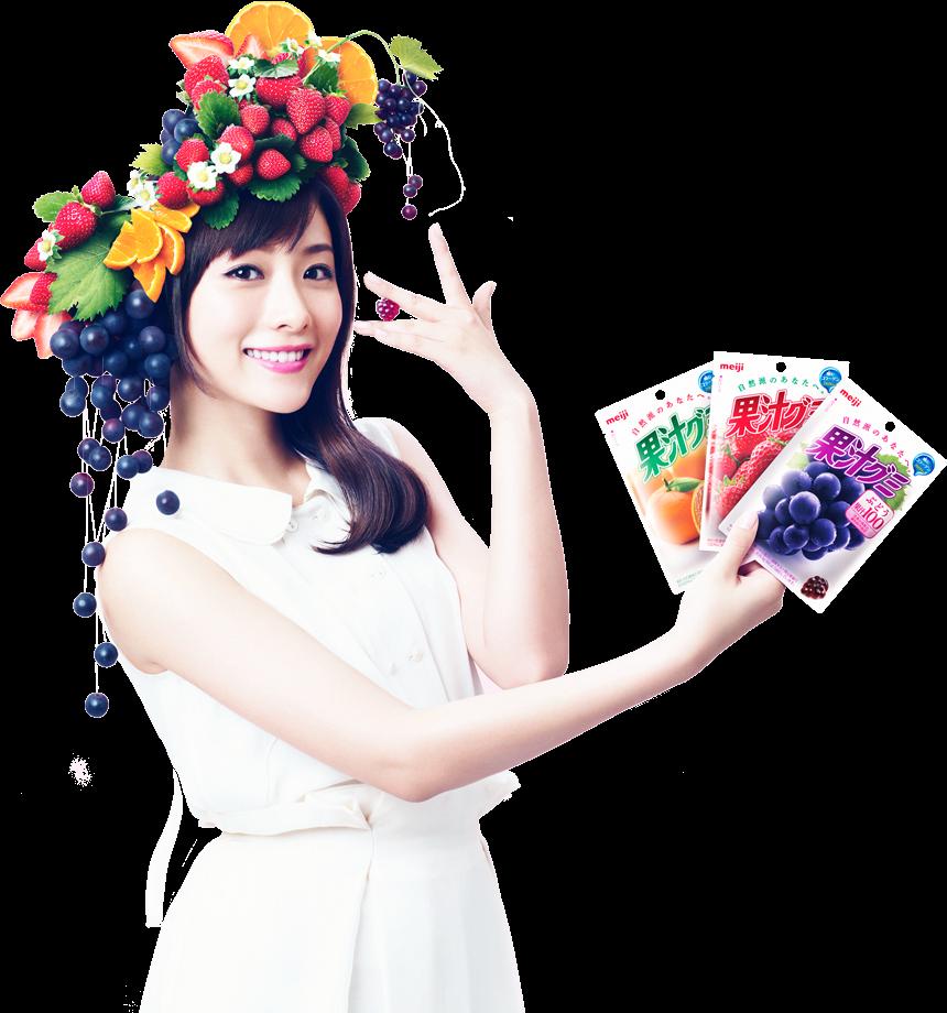 石原さとみ Ishihara Satomi meiji 果汁グミ Kajuu Gummy Images 2