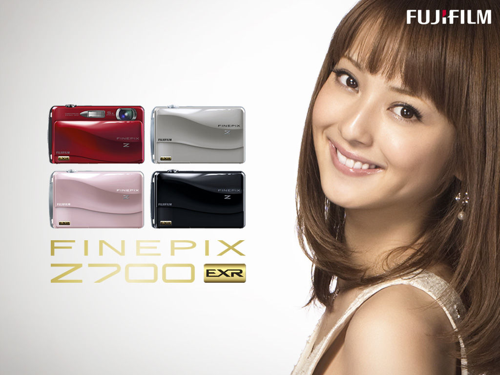 佐々木希 Sasaki Nozomi FUJiFILM FINEPIX Z700 Images