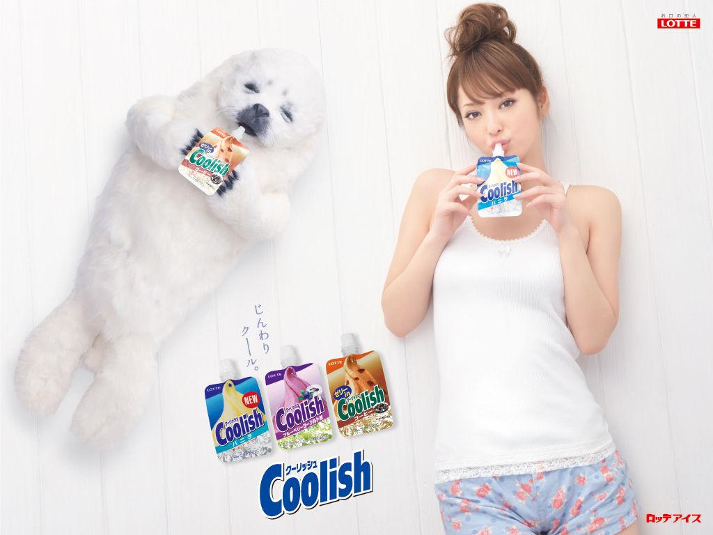 佐々木希 Sasaki Nozomi LOTTE Coolish Images 2