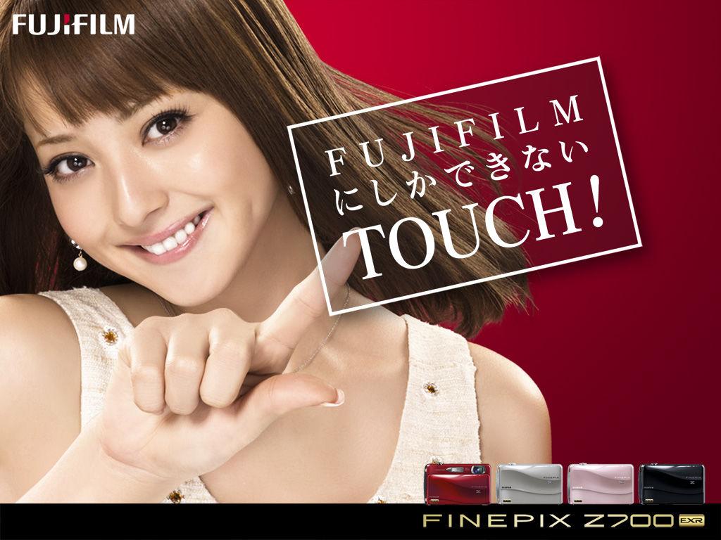 佐々木希 Sasaki Nozomi FUJiFILM FINEPIX Z700 Images 2
