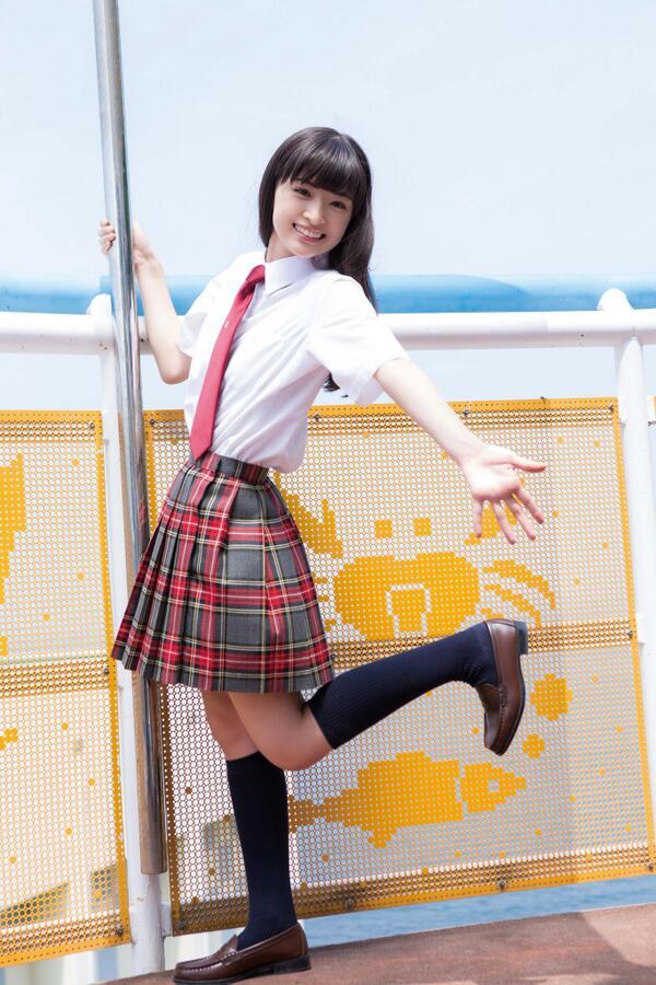 優希美青 Yuki Mio School Girl Images 10