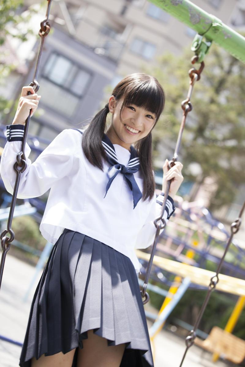 優希美青 Yuki Mio School Girl Images 8