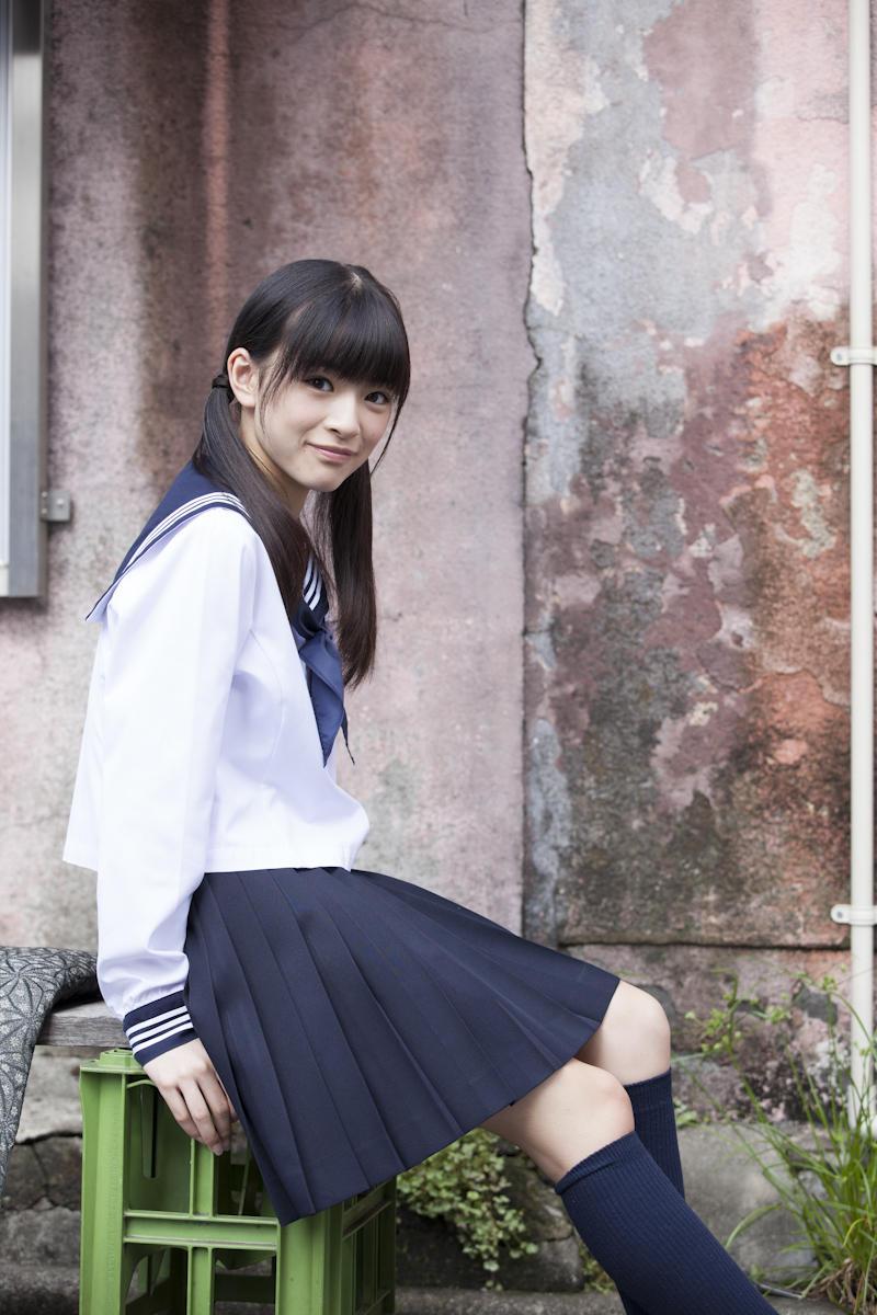 優希美青 Yuki Mio School Girl Images 5