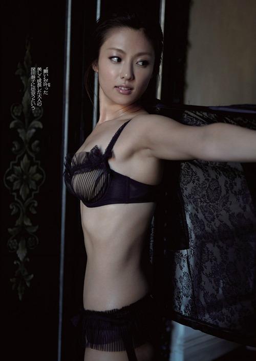 深田恭子 Kyoko Fukada (un)touch Sexy Lingerie ランジェリー 34