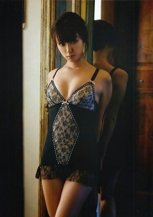 深田恭子 Kyoko Fukada (un)touch Sexy Lingerie ランジェリー 05