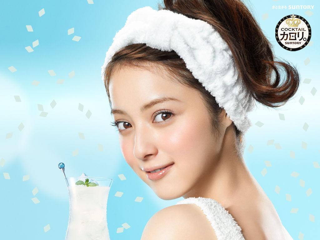 佐々木希 Nozomi Sasaki SUNTORY Images 5