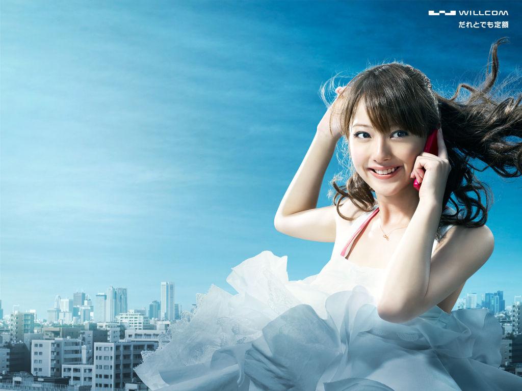 佐々木希 Nozomi Sasaki WILLCOM Images 4