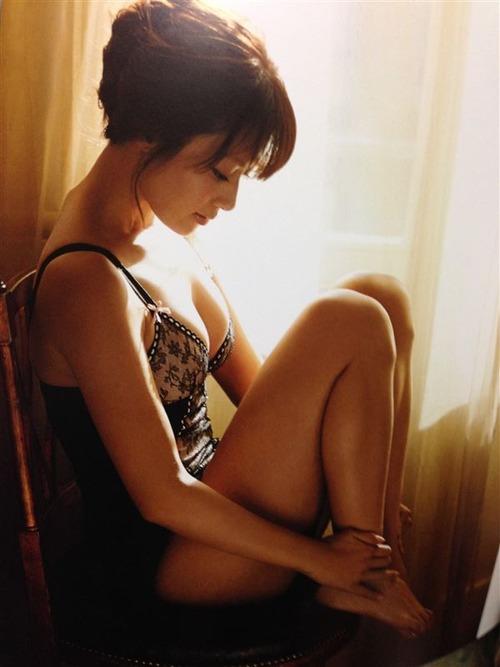 深田恭子 Kyoko Fukada (un)touch Sexy Lingerie ランジェリー 11