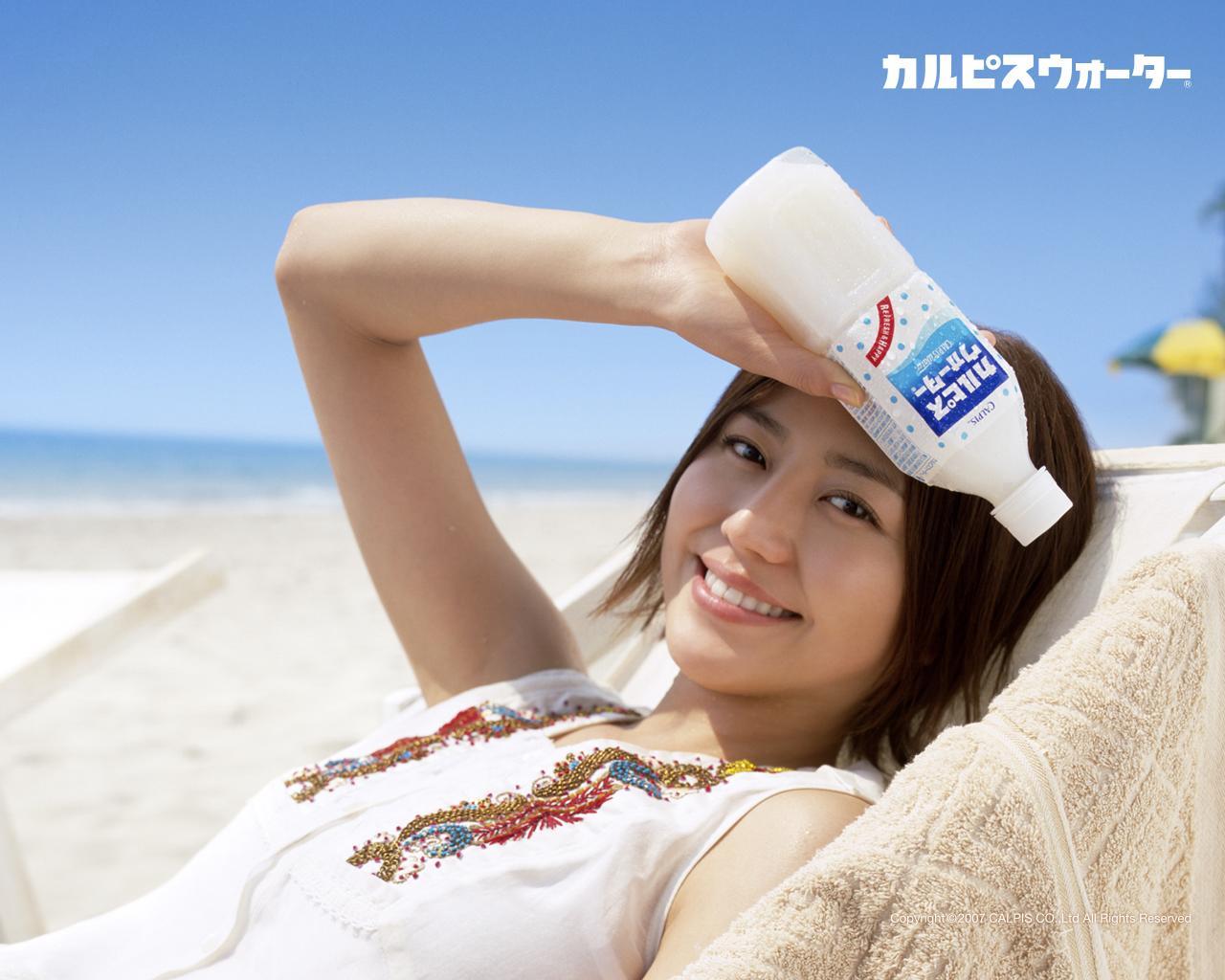 長澤まさみ Nagasawa Masami カルピス Calpis Images 3