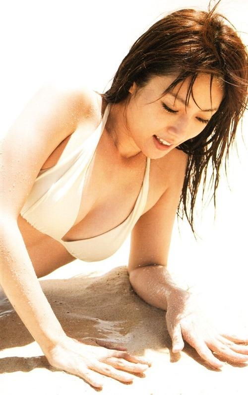 深田恭子 水着 Kyoko Fukada Sexy Bikini Images 18