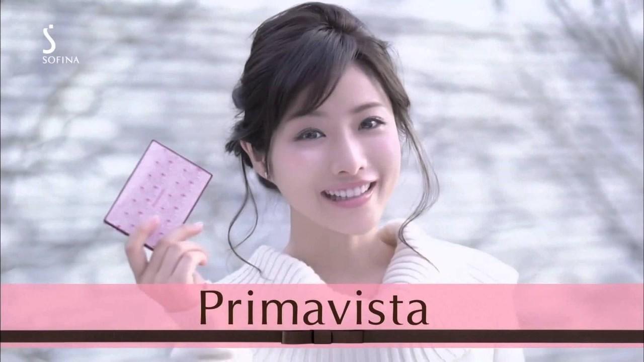 Satomi Ishihara 石原さとみ SOFINA Primavista ソフィーナ プリマヴィスタ Images 6