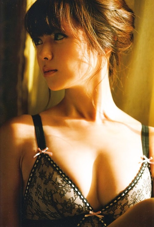 深田恭子 Kyoko Fukada (un)touch Sexy Lingerie ランジェリー 21