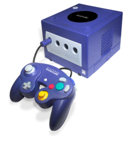 2001年-任天堂 ニンテンドーゲームキューブ 25,000円