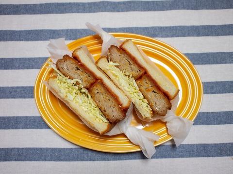 サンドイッチ3連発 みんな大好き「メンチカツ」IGで大人気「沼サン」そしてブーム間近「ごりサン」