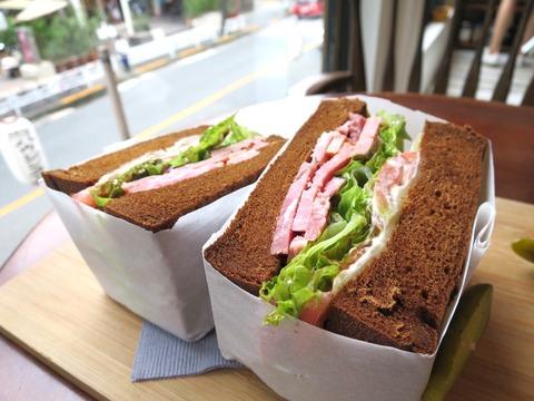 野菜たっぷり!グルメサンドイッチ専門店 東京代官山の「King George」