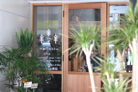 伏見「moriwaku cafe」木々に囲まれた空間で美味しいコーヒーを!