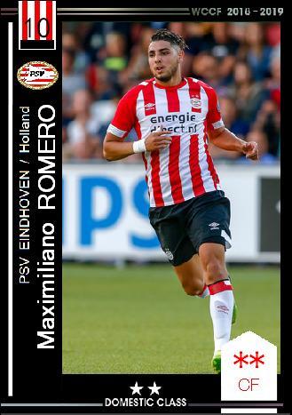 18-19 SP マクシミリアーノ・ロメロ (PSVアイントホーフェン) : WCCF ...