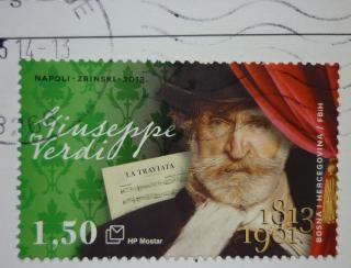 pict-Verdi stamp BosnaiHercegovina
