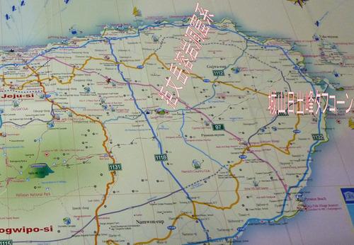 済州島地図‐3‐1半分