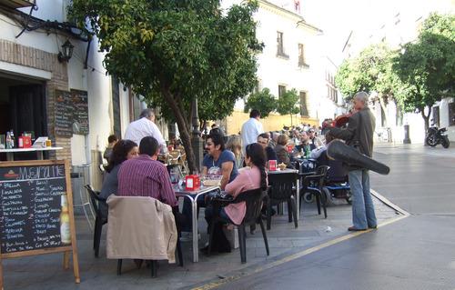 セビリアの昼スペイン(2)154