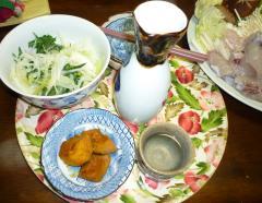 pict-南瓜煮物&酒-1
