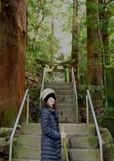 pict-P1040752熊野磨崖仏石段修整