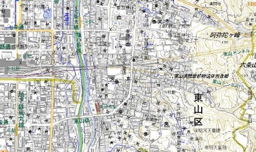 pict-京都・東山一部地図