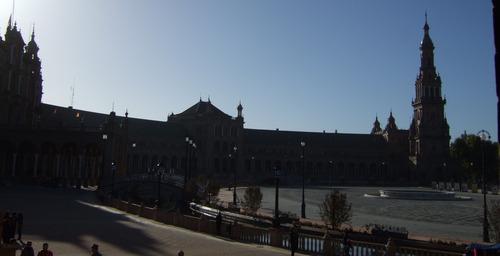 セビリア、スペイン広場(2)027