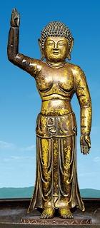 pict-誕生釈迦仏立像