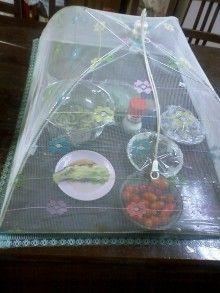 テーブル用蚊帳-1