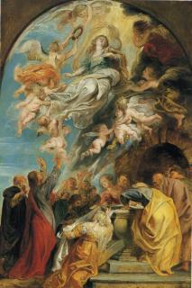 pict-img235聖母被昇天(下絵)ルーベンス-1