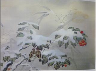 pict-横山大観『冬の夕』(1)