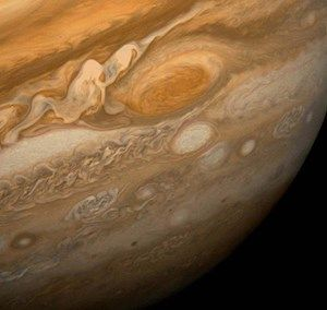 s-{{PD-USGov-NASA}} The Great Red Spot as seen from Voyager 1