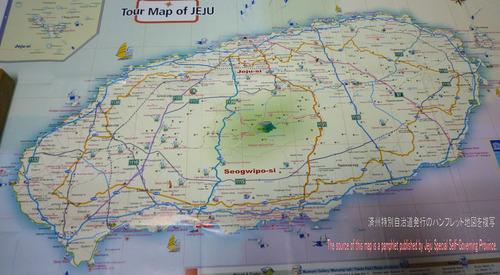 済州島地図‐2