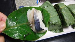柿の葉寿司-1