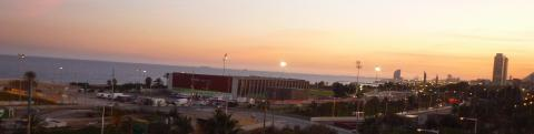 pict-雅宏撮影スペイン(3)054バルセロナの夕暮れ