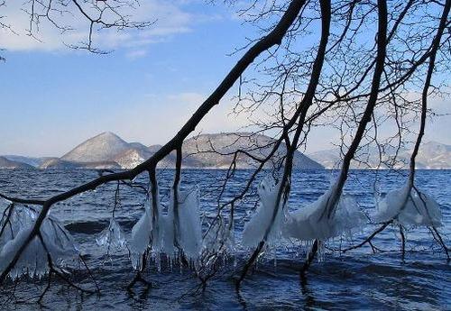 洞爺湖しぶき氷l