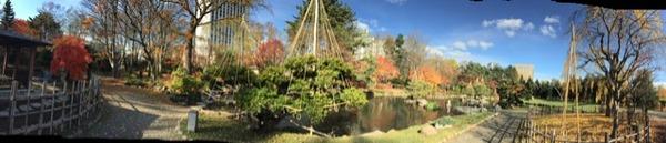 中島日本庭園パノラマ