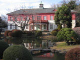 日本庭園と旧東京医学校本館4