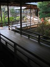 邃溪園の園路