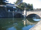 正門石橋(二重橋)と皇居正門