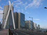 中央大橋から新川方面の眺め