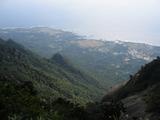 山頂手前からの眺め